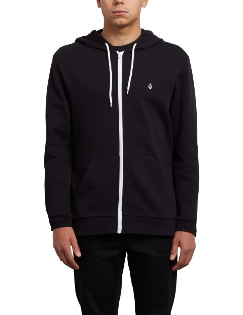 Volcom Iconic Zipped Hoody in Black