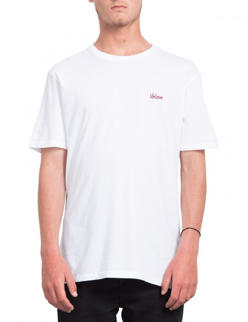 Volcom Impression Short Sleeve T-Shirt in White