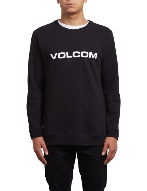 Volcom Imprint Crew Sweatshirt in Black