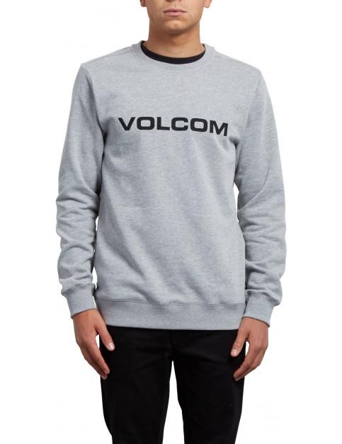 Volcom Imprint Crew Sweatshirt in Grey