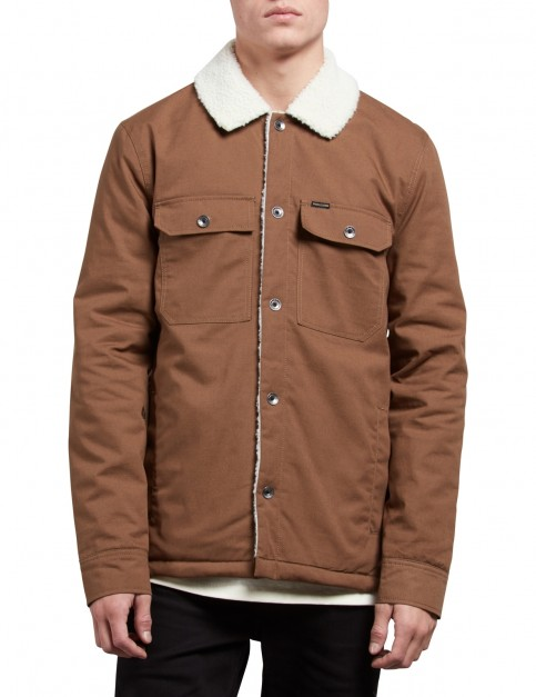 Volcom Keaton Jacket in Brown