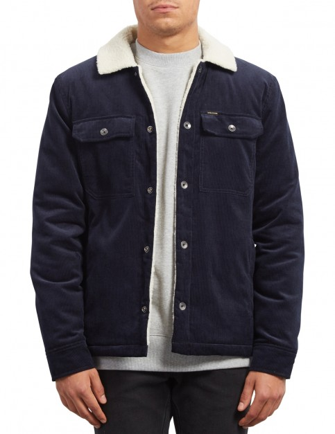 Volcom Keaton Jacket in Navy