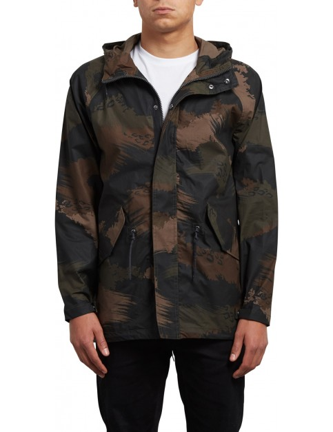 Volcom Lane Parka Jacket in Camouflage