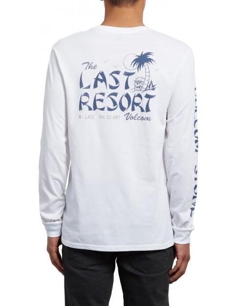 Volcom Last Resort Long Sleeve T-Shirt in White