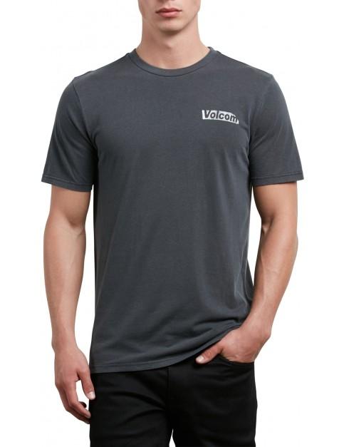 Volcom Liberate Stone Short Sleeve T-Shirt in Black