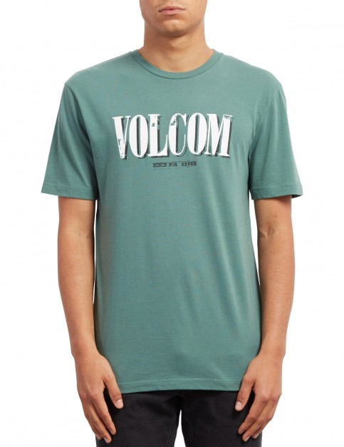 Volcom Lifer Short Sleeve T-Shirt in Pine