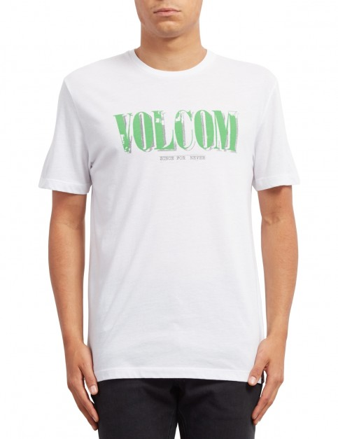 Volcom Lifer Short Sleeve T-Shirt in White