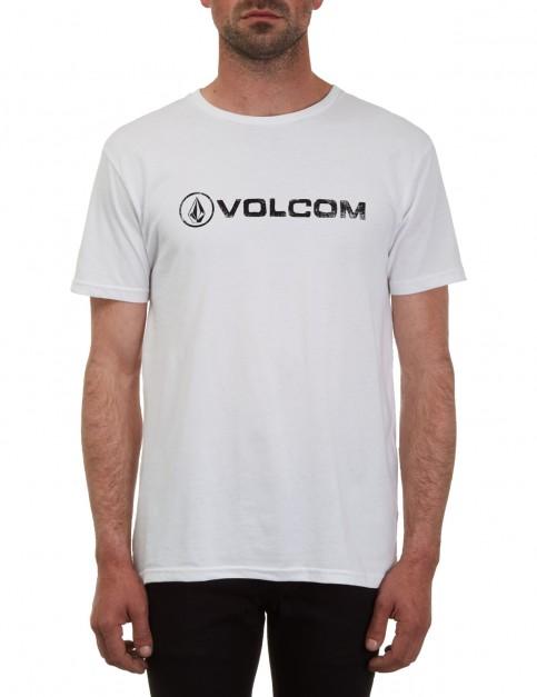 Volcom Lino Euro Short Sleeve T-Shirt in White
