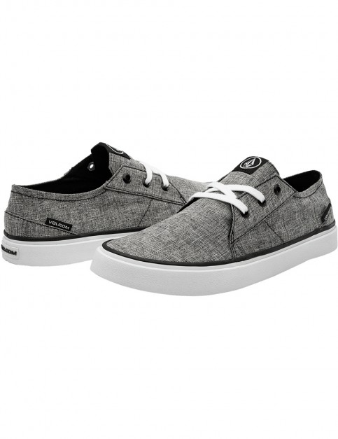 Volcom Lo Fi Trainers in Heather Black