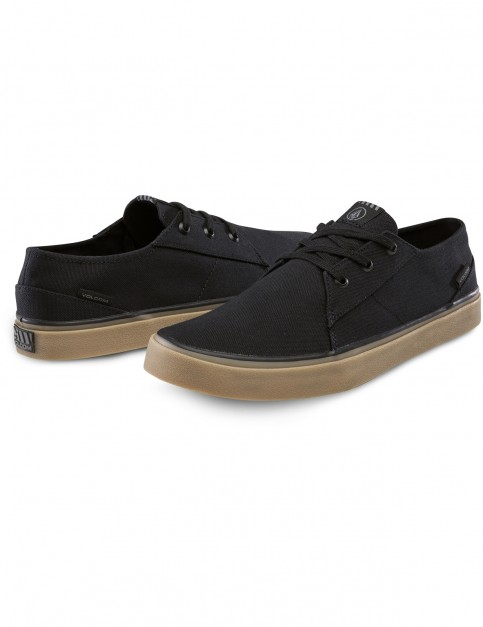 Volcom Lo Fi Trainers in New Black