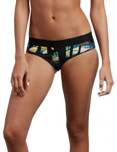 Volcom Lost Marbles Modest Bikini in Black