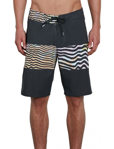 Volcom Macaw Faded Mod Mid Length Boardshorts in Multi