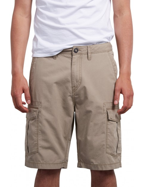 Volcom Miter II Cargo Shorts in Khaki