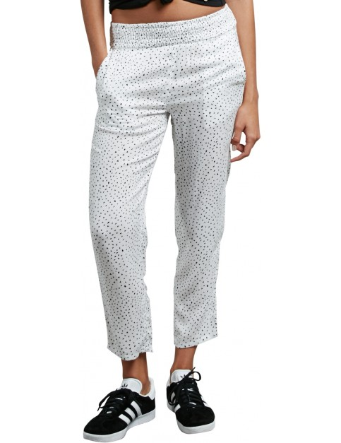 Volcom Mix A Lot Chino Trousers in Star White