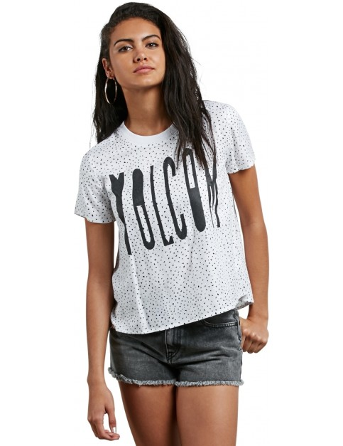 Volcom Mix A Lot Short Sleeve T-Shirt in Star White