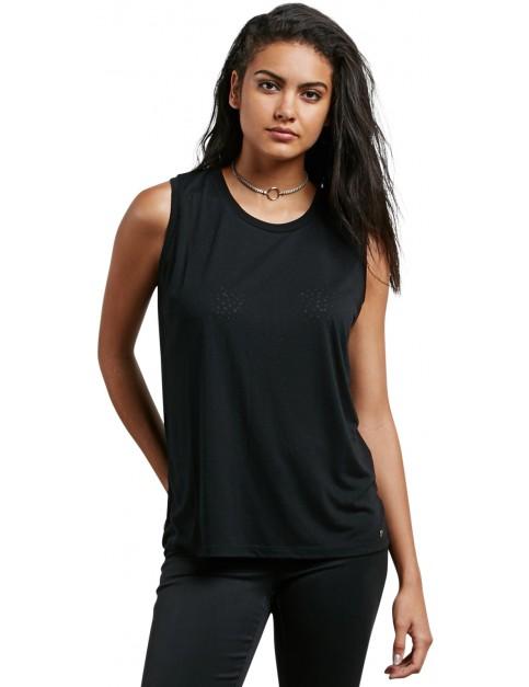 Volcom Mix A Lot Tank Sleeveless T-Shirt in Black