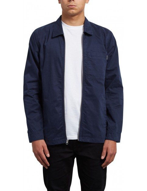 Volcom Murphy Jacket in Navy