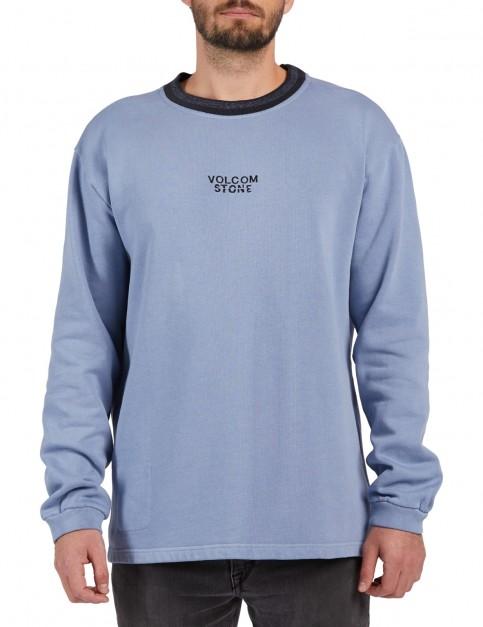 Volcom Noa Noise Fleece Sweatshirt in Stone Blue