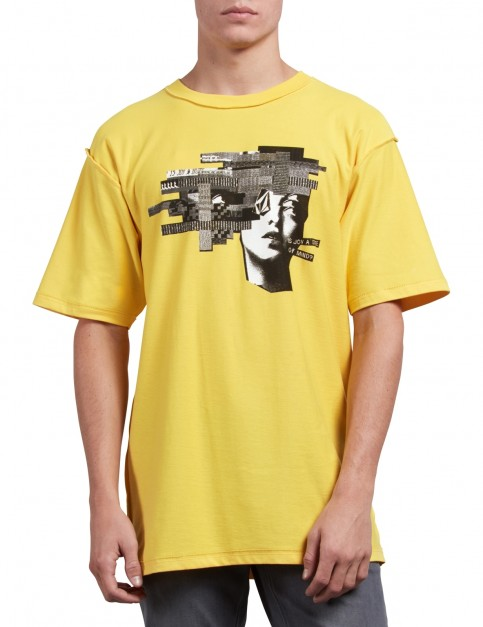 Volcom Noa Noise Head Short Sleeve T-Shirt in Cyber Yellow