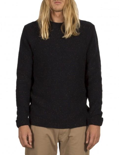 Volcom Oldon Crew Sweatshirt in Indigo
