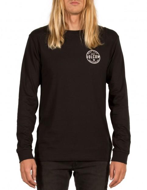Volcom On Lock Long Sleeve T-Shirt in Black