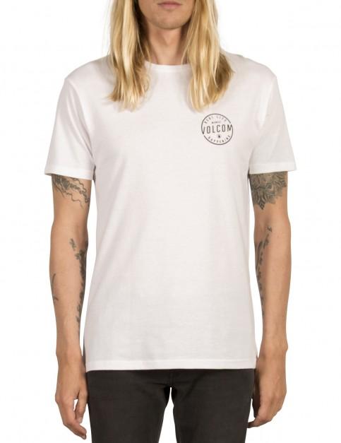 Volcom On Lock Short Sleeve T-Shirt in White