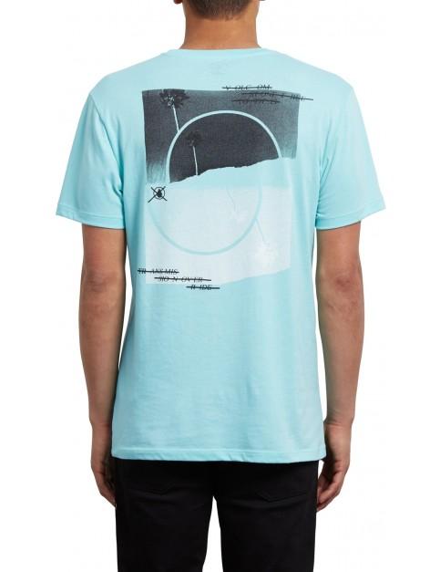 Volcom Over Ride DD Short Sleeve T-Shirt in Pale Aqua