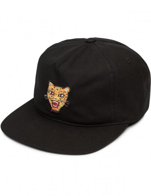 Volcom Ozzie Tiger Cap in Black