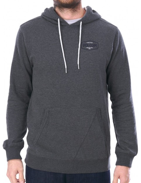 Volcom Packsaddle Pullover Hoody in Dark Grey