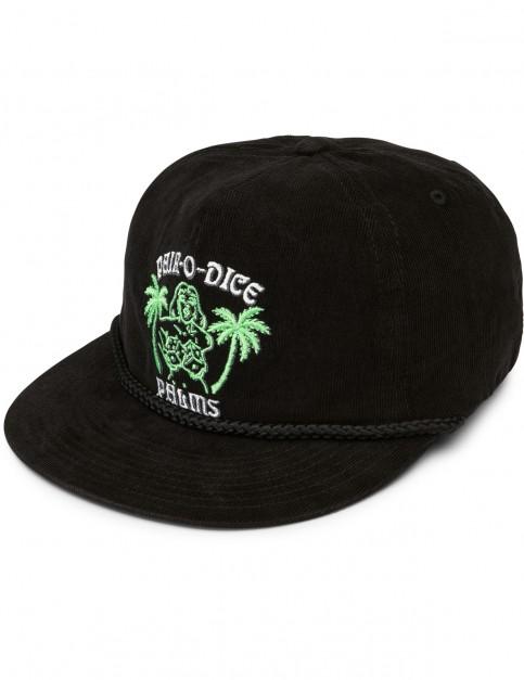 Volcom Pair-O-Dice Cap in Black