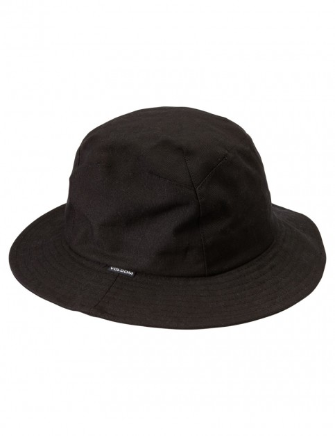 Black Volcom Pale Head Sun Hat