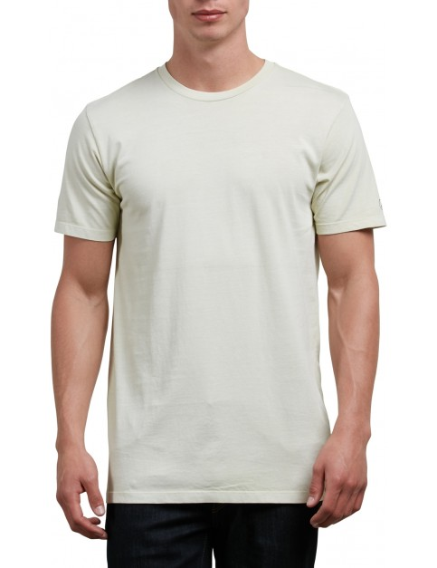 Volcom Pale Wash Solid Short Sleeve T-Shirt in Clay