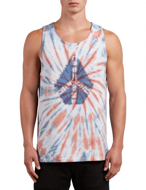 Volcom Peace Stone Tank Sleeveless T-Shirt in Multi
