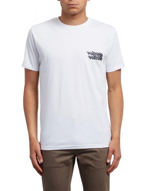 Volcom Peek A Boo Short Sleeve T-Shirt in White