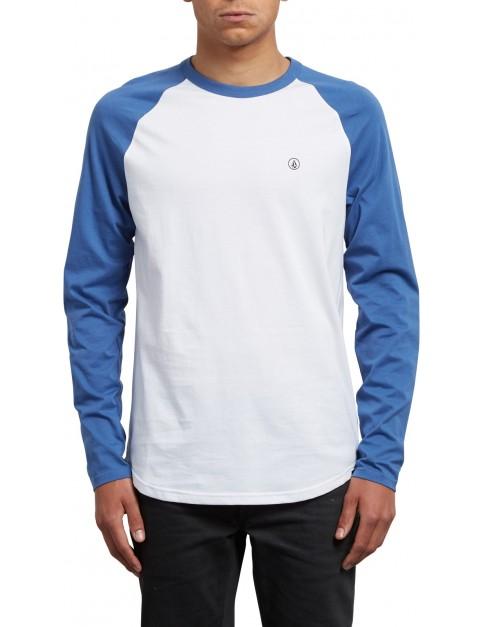 Volcom Pen Long Sleeve T-Shirt in Blue Drift