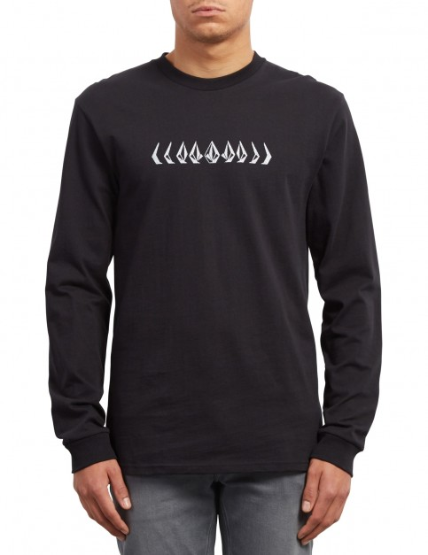 Volcom Phase Long Sleeve T-Shirt in Black