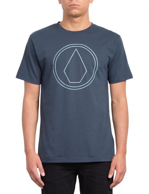 Volcom Pin Stone Short Sleeve T-Shirt in Indigo