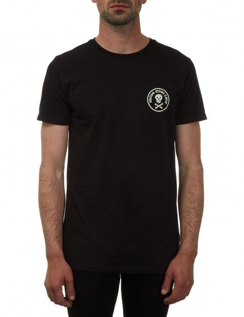 Volcom Pirate Stone Short Sleeve T-Shirt in Black