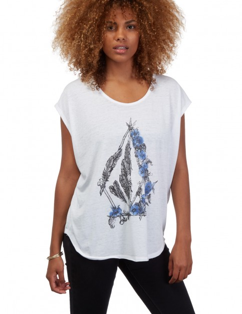 Volcom Pony Gold Short Sleeve T-Shirt in White