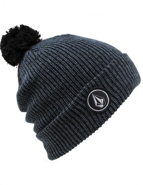 Airforce Blue Volcom Quarter Pom Beanie