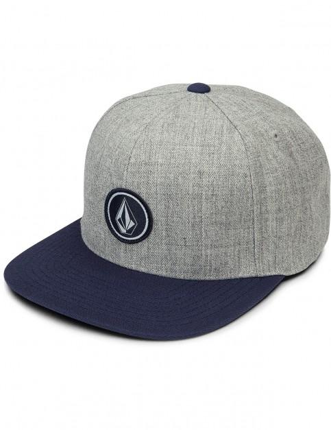 Volcom Quarter Twill Cap in Medium Grey
