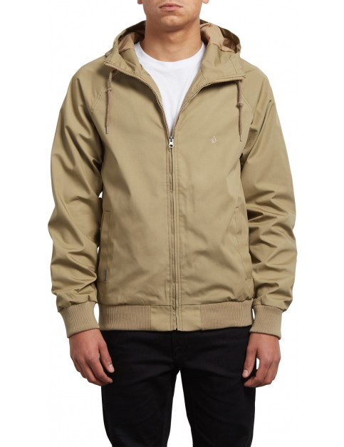 Volcom Raynan Jacket in Sand Brown