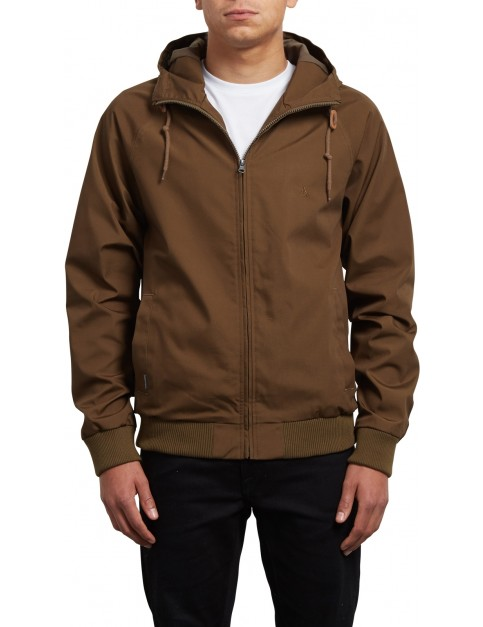 Volcom Raynan Jacket in Seaweed Green