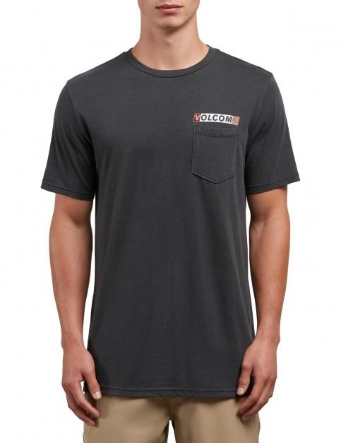 Volcom Rebel Radio Short Sleeve T-Shirt in Black