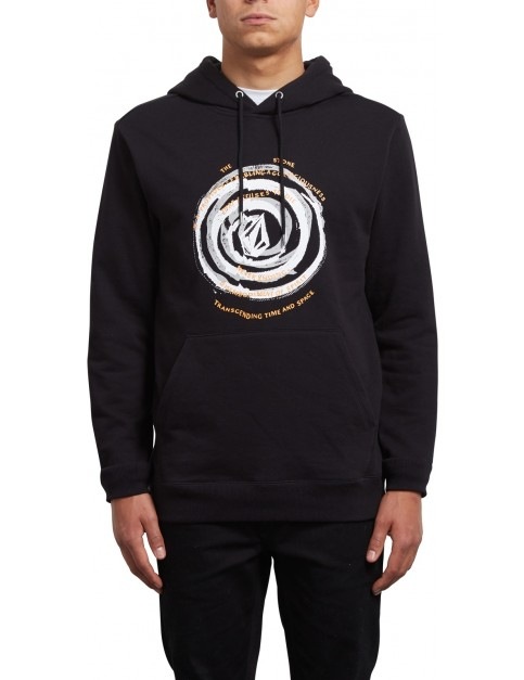 Volcom Reload Pullover Hoody in Black Out