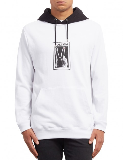 Volcom Reload Pullover Hoody in White
