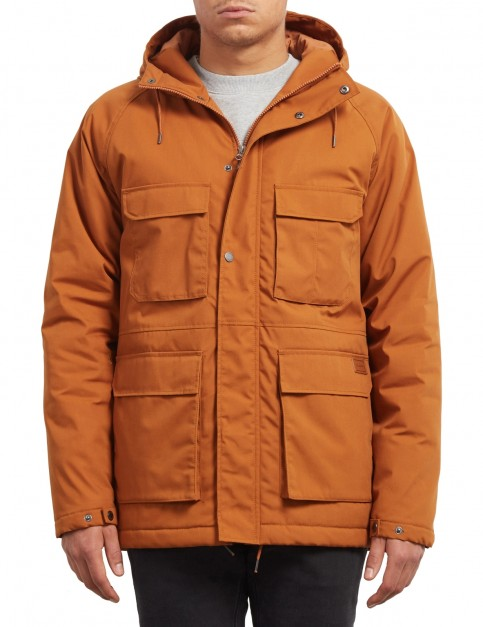 Volcom Renton Winter Jacket in Hazelnut