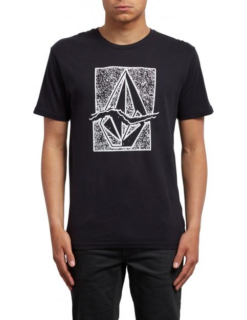 Volcom Rip Stone Short Sleeve T-Shirt in Black