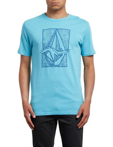 Volcom Rip Stone Short Sleeve T-Shirt in Blue Bird