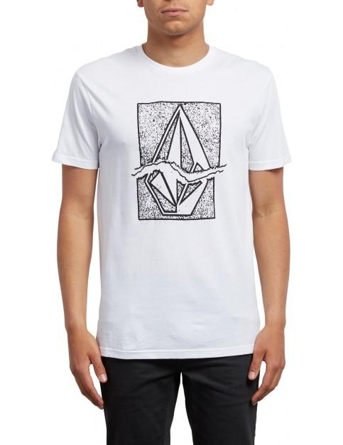 Volcom Rip Stone Short Sleeve T-Shirt in White